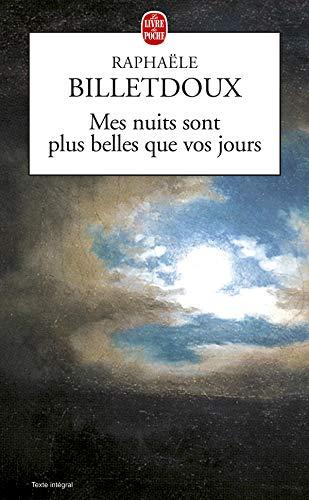 9782253041320: Mes nuits sont plus belles que vos jours
