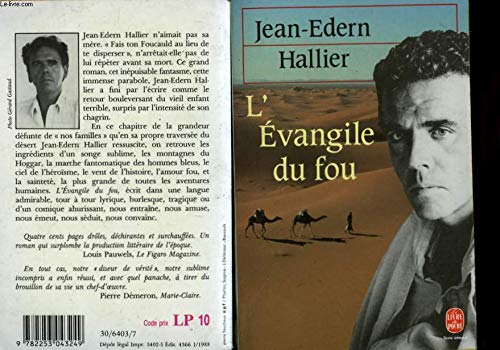 9782253043249: L evangile du fou (Le Livre de Poche)