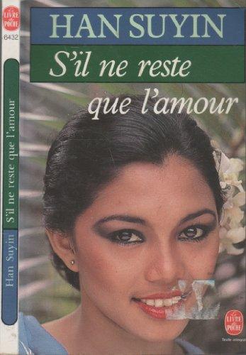 9782253044932: S'il Ne Reste Que L'amour
