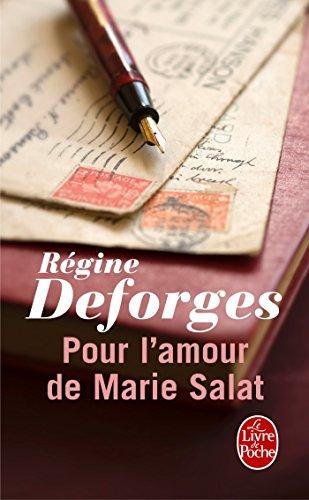 9782253045069: Pour l'amour de Marie Salat