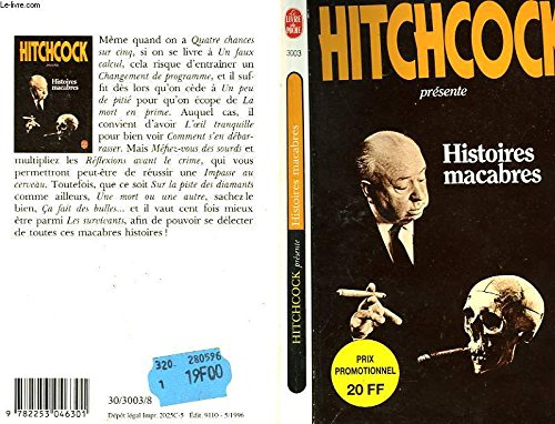 Histoires macabres (9782253046301) by Alfred Hitchcock