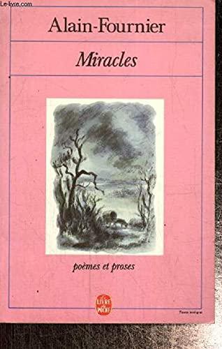 """9782253047063: Miracles, suivi de """"Alain-Fournier"""""""