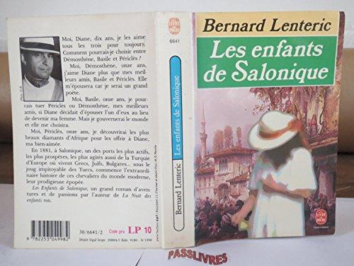 Les enfants de Salonique: Bernard Lenteric