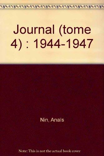 9782253052739: JOURNAL. Tome 4, 1944-1947 (Le Livre de Poche Biblio)