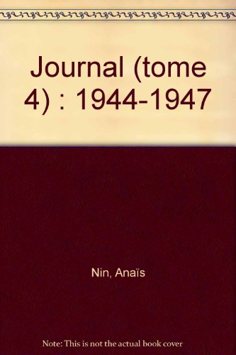 9782253052739: JOURNAL. Tome 4, 1944-1947