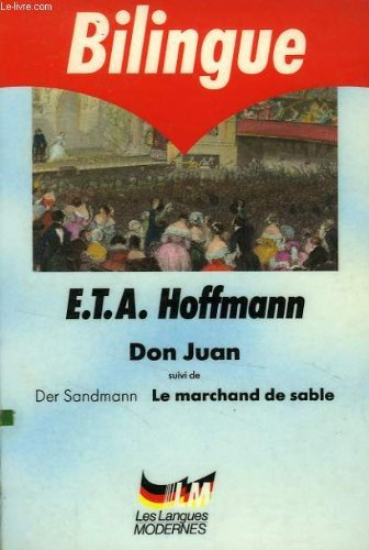 9782253055549: Don Juan et Der Sandmann, Le marchand de sable