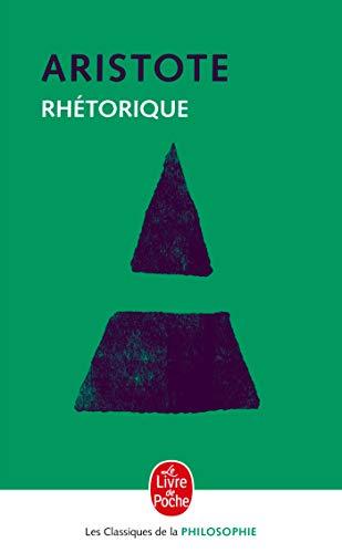ARISTOTE/RHETORIQUE: Aristote