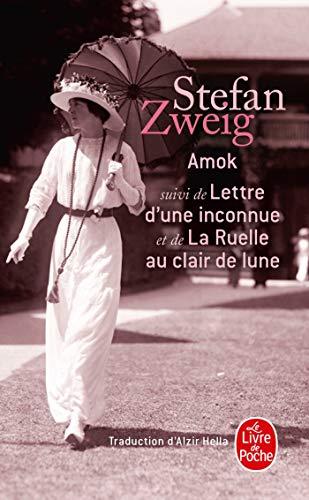 9782253057543: Amok Suivi de Lettre D'Une Inconnue (Le Livre de Poche)