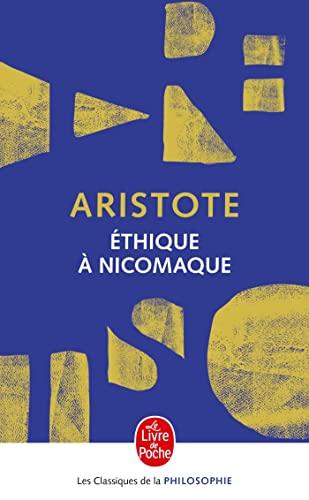 9782253057727: Ethique a Nicomaque (Ldp Class.Philo) (French Edition)