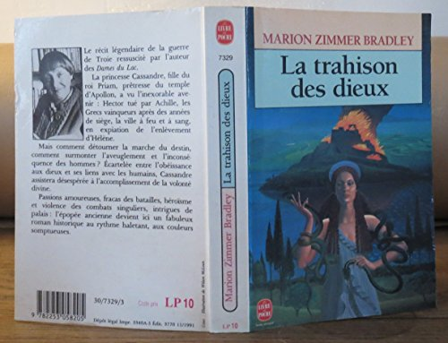 LA TRAHISON DES DIEUX. (Verrat der Götter).: Zimmer Bradley, Marion