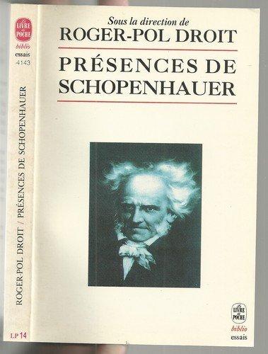 9782253058557: Présences de Schopenhauer