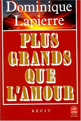 9782253058915: Plus Grands Que l'Amour (French Edition)