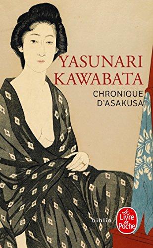 Chronique d'Asakusa (Biblio): Yasunari Kawabata