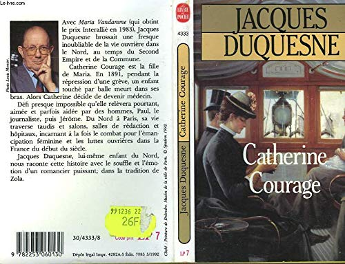 Catherine Courage: Jacques Duquesne