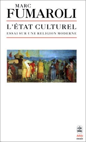 9782253060819: L'Etat culturel : Une religion moderne (Le Livre de Poche Biblio)