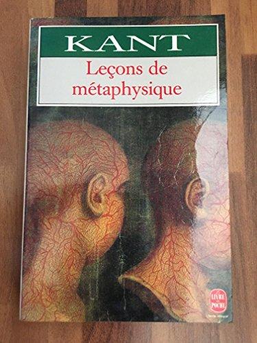 9782253062202: Leçons de métaphysique