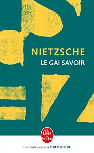 9782253063865: Le Gai Savoir (Le Livre de Poche) (French Edition)