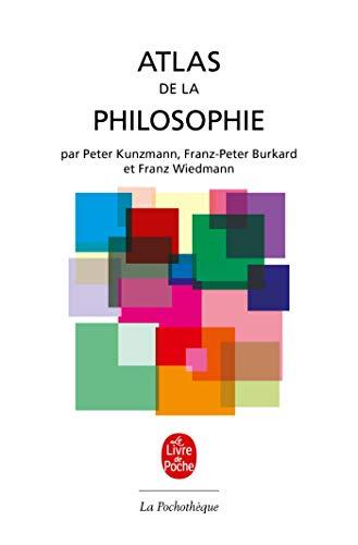 Broché - Atlas de la philosophie: Burkard, Franz Wiedmann