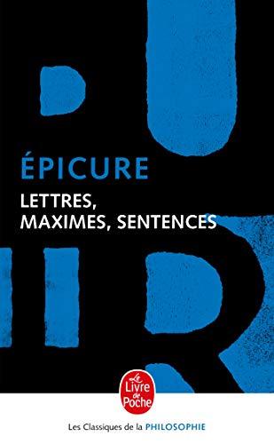 9782253067092: Lettres, maximes, sentences