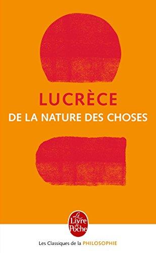 9782253067580: de La Nature Des Choses (Ldp Class.Philo) (French Edition)
