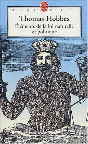 9782253067610: Elements de la loi naturelle et politique (Classiques de Poche)