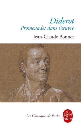 DIDEROT : PROMENADES DANS L'OEUVRE: BONNET JEAN-CLAUDE