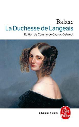 9782253096290: La Duchesse de Langeais