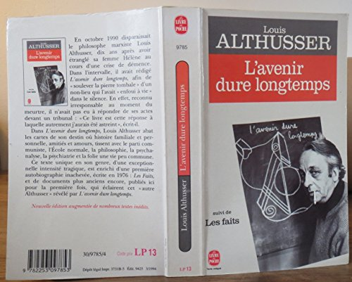 9782253097853: L'Avenir Dure Longtemps (French Edition)