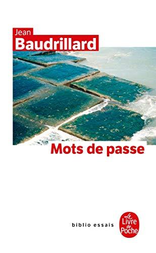 9782253109204: Mots de Passe (Ldp Bib.Essais) (French Edition)