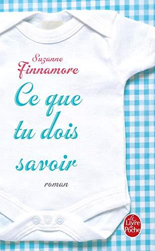 9782253114352: Ce Que Tu Dois Savoir (Ldp Litterature) (French Edition)