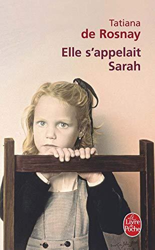 9782253122081: Elle s'appelait Sarah (French Edition)