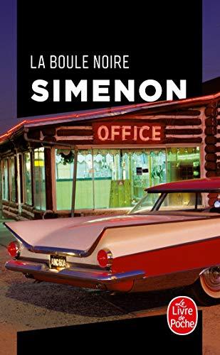 9782253127253: La Boule Noire (Ldp Simenon) (English and French Edition)