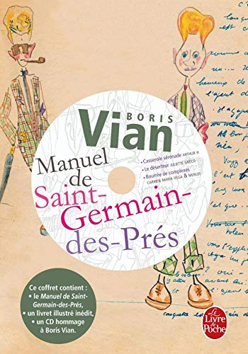 Manuel de St-Germain-Des-Pres Ed.Premium/CD (Ldp Litterature) (French Edition) (2253129305) by B Vian