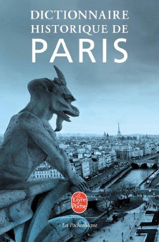 9782253131403: Dictionnaire historique de Paris