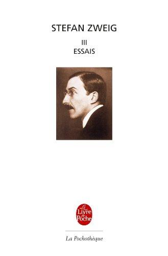 9782253132325: Essais Tome 3 (Ldp Litt.Theat.) (French Edition)