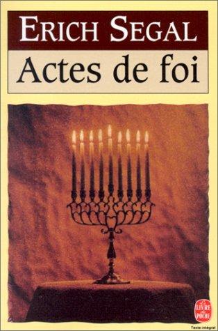 9782253133612: Actes de foi