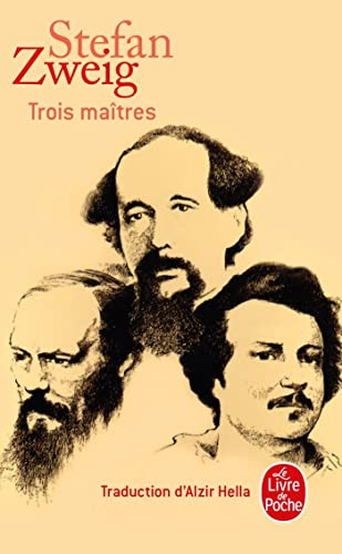 9782253136286: Trois Maitres (Ldp Litterature) (French Edition)