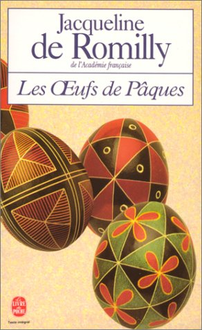 9782253137368: Les Oeufs de Paques (Ldp Litterature) (French Edition)