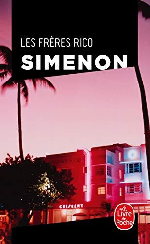 9782253143222: Les Freres Rico (Ldp Simenon) (French Edition)