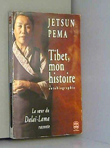 9782253143390: Tibet, mon histoire