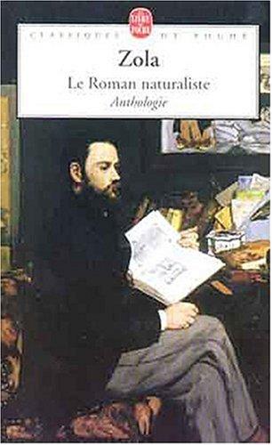 9782253147718: Le Roman naturaliste (Classiques de Poche)