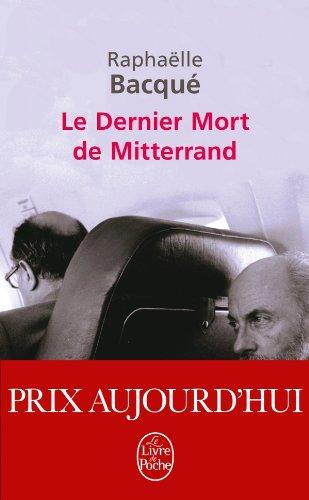 9782253157885: Le Dernier Mort de Mitterrand (Le Livre de Poche) (French Edition)