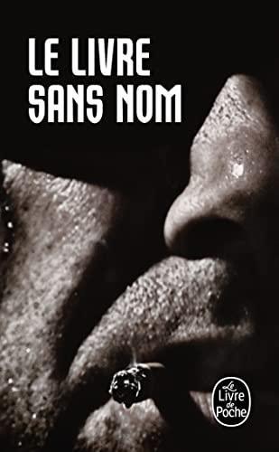 9782253158356: Le Livre sans nom (plp)