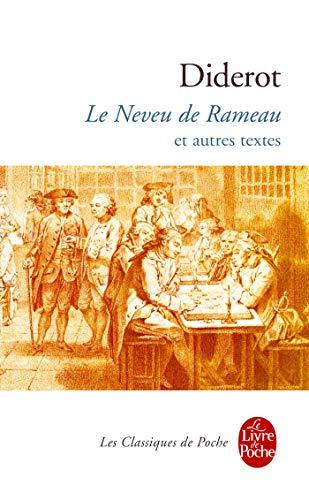 9782253160748: Le Neveu de Rameau Et Autres Textes (Ldp Classiques) (French Edition)