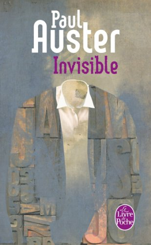 Invisible (Littérature): Paul Auster