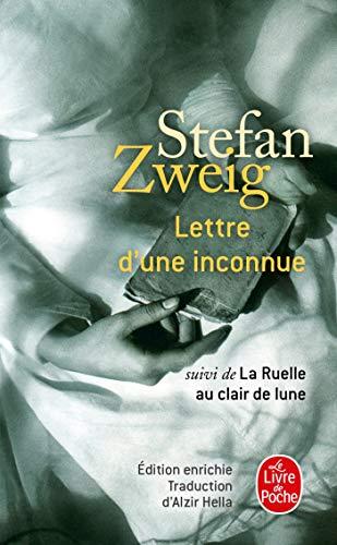 9782253175476: Lettre D'Une Inconnue (Litterature & Documents) (French Edition)