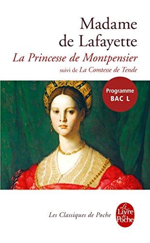 9782253193142: La Princesse de Montpensier: Suivi de la Comtesse de Tende (Le Livre de Poche) (French Edition)