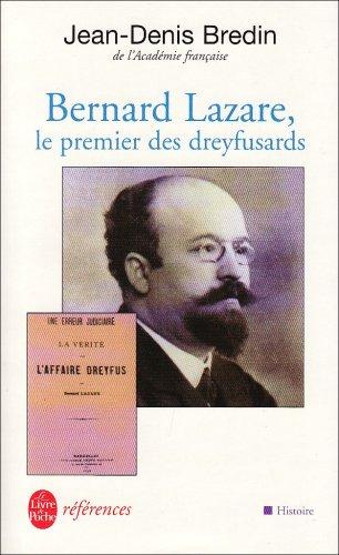 9782253904243: Bernard Lazare (Le Livre de Poche r�f�rences)