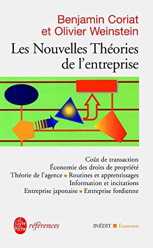 9782253905196: Les nouvelles th�ories de l'entreprise