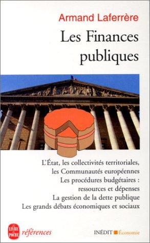 9782253905486: Les finances publiques